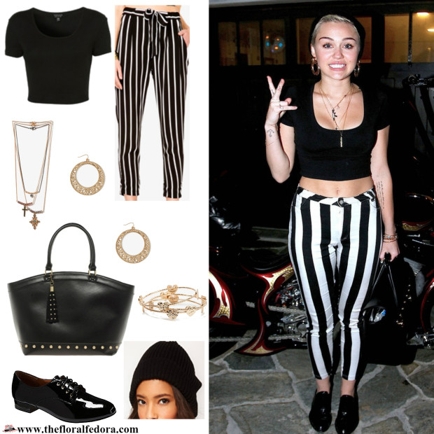 Miley Cyrus Look for Less