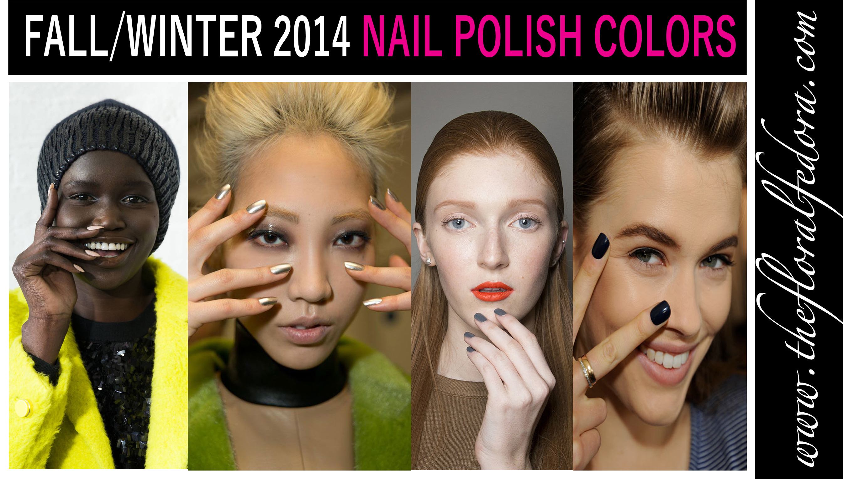 Fallwinter 2014 Nail Polish Colors The Floral Fedora