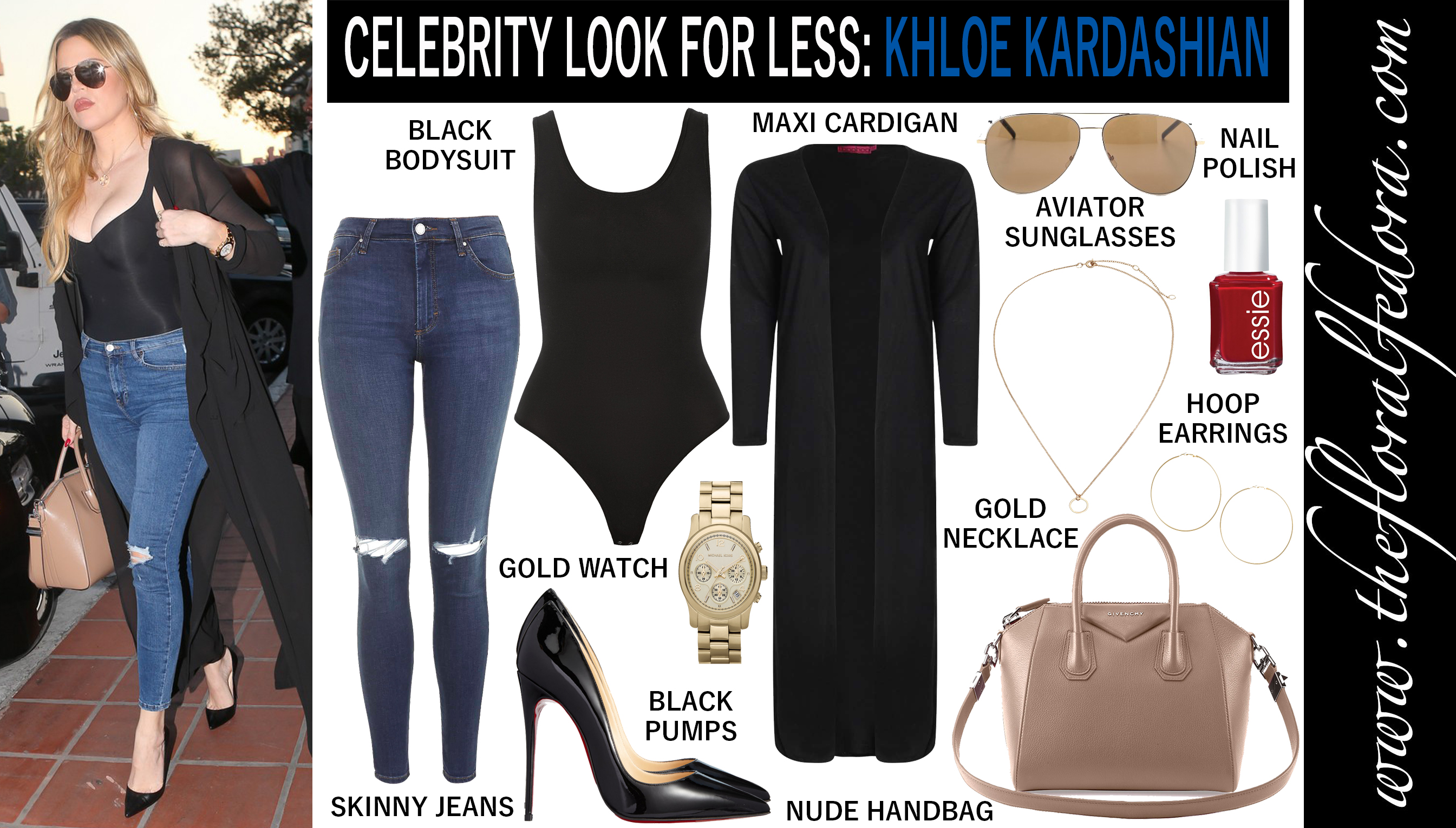 Dress for less celebrity style watch